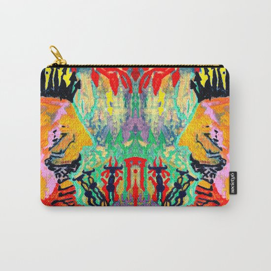 painting selfportrait selfie Carry-All Pouch