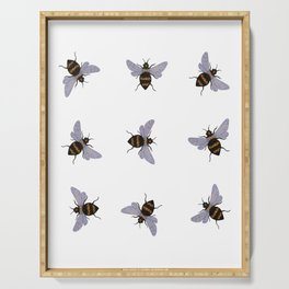 bees Serving Tray