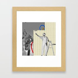 The Cover Up Framed Art Print