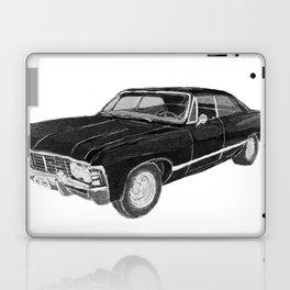 '67 Chevy Impala (w/o background) Laptop & iPad Skin