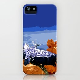 Vulture Spirit Guide iPhone Case