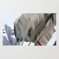 palm Area & Throw Rugs featuring palm by Renee-David