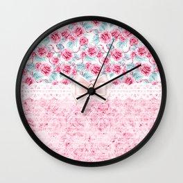 Dream Roses Wall Clock
