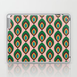 Peacock feather pink #homedecor #midcenturydecor Laptop & iPad Skin
