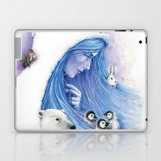 Lady Winter / Dame Hiver Laptop & iPad Skin