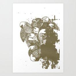 pajarracos Art Print