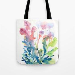 fresh flower art Tote Bag