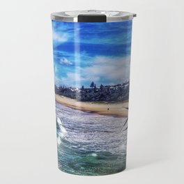 Noosa Heads Beach Australia Travel Mug