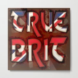 True Brit Metal Print