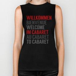 Wilkommen Im Cabaret Biker Tank