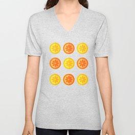 Citrus Fresh Unisex V-Neck