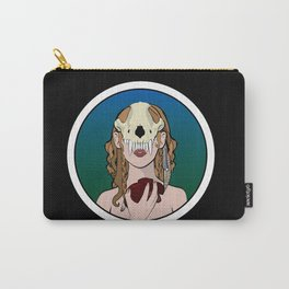 Skull Mask II Carry-All Pouch