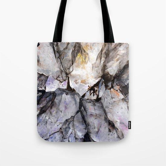 Crystal texture Tote Bag