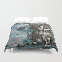marley Duvet Covers featuring Marley by Allison Weeks Thomas