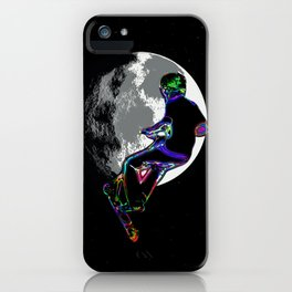 Moonlit Scooter Champ iPhone Case