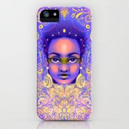 Psychedelic Queen iPhone Case