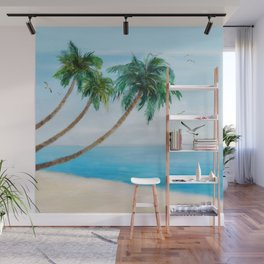 Palm Trees 2 Wall Mural