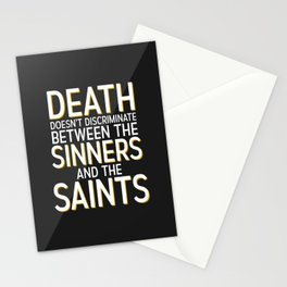 Death Doesn't Discriminate Stationery Cards
