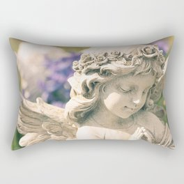 Spring Angel Rectangular Pillow