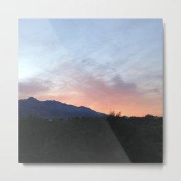 Daybreak In Tucson Metal Print