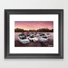 Cars Framed Art Print