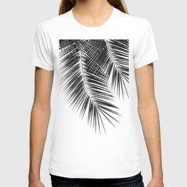 Black Palm Leaves Dream - Cali Summer Vibes #2 #tropical #decor #art #society6 T-shirt