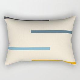 Classic Vintage Stripes Rectangular Pillow