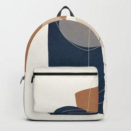 Spiraling Geometry 1 Backpack