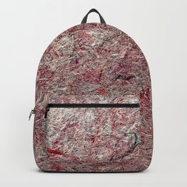 Japanese Handcrafted Dyed Paper Abstract Texture Backpack