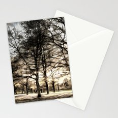 Greenwich Park London Art Stationery Cards