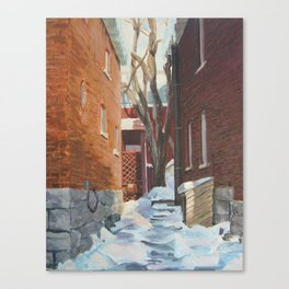 Leah's Alley  Canvas Print