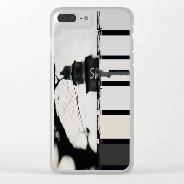 Marking The Artwork Clear iPhone Case