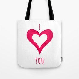I Love You II Tote Bag