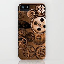 Steam Punk Gears iPhone Case