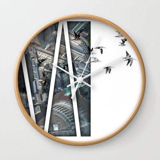 defection Wall Clock
