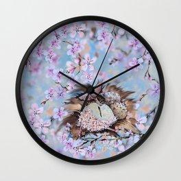 Clockwork nestling Wall Clock