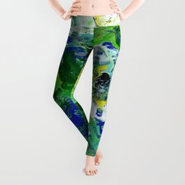 Abstract Floral - Botanical Leggings
