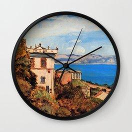 The Bay of Marseille, Saint-Henri Wall Clock