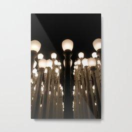 Urban Light Metal Print