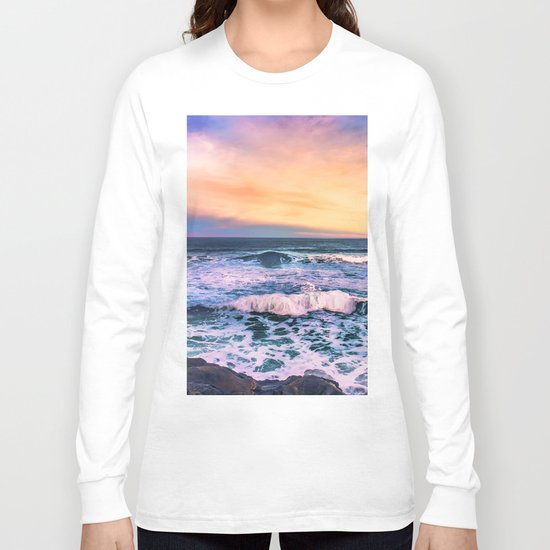 Sunset of the Bay of Biscay Long Sleeve T-shirt