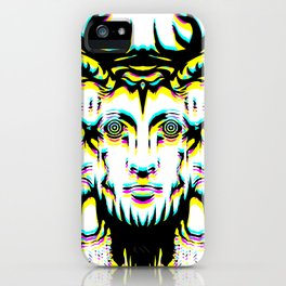 GOD II Psicho iPhone Case
