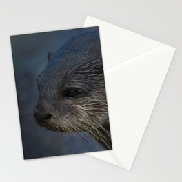 Small Clawed Otter Stationery Cards