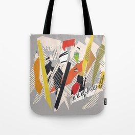 Multicolor collage ign Tote Bag