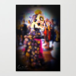 Caught Up In The Moment Canvas Print