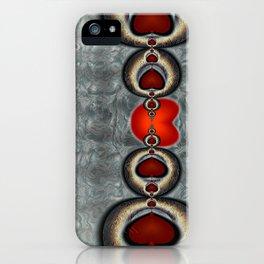 Chains around my heart. iPhone Case