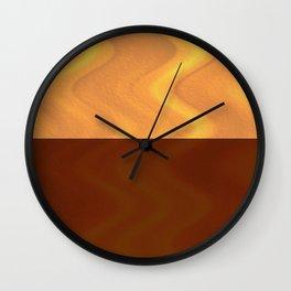 Copper-Bronze and Gold Design Wall Clock