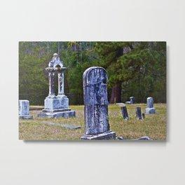 Graveyard, Daytime Metal Print