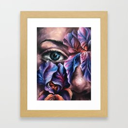 """""""Guarded"""" Painting Framed Art Print"""