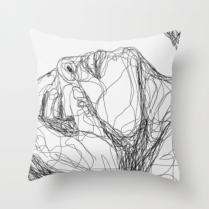 you had me Throw Pillow