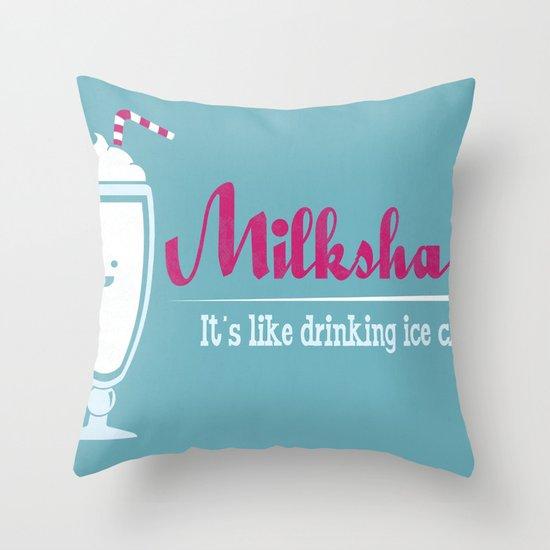 Obvious Slogan Throw Pillow